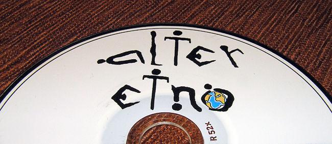 Fragment krążka CD