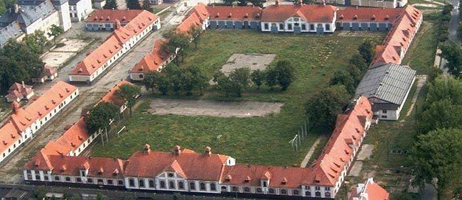 Białe Koszary w Ostródzie