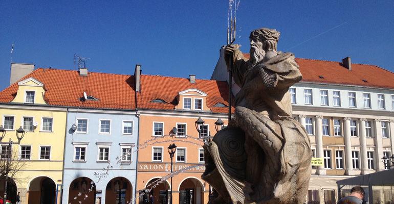 Fontanna Neptuna w Gliwicach