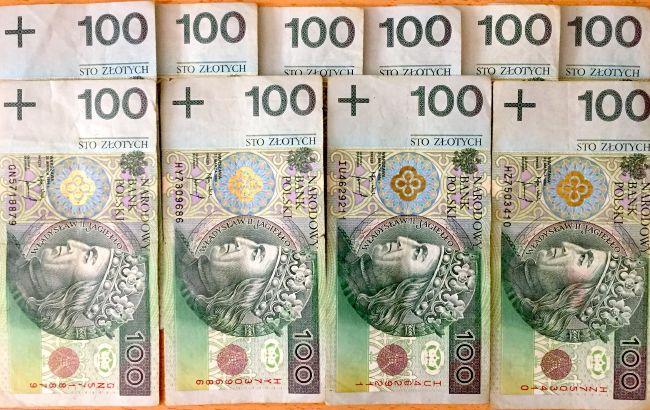 Banknoty NBP 100 PLN