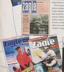 Okładki Magazynu Żagle