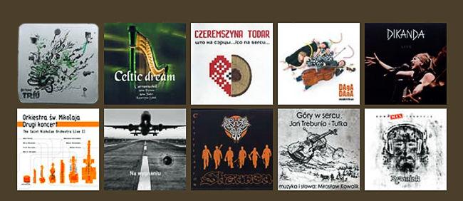 Płyty folkowe 2010
