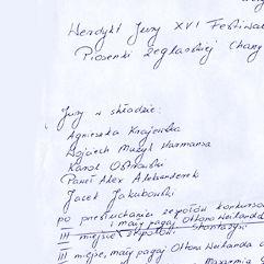 XVI Festiwal w Charzykowych