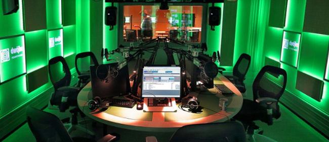 Studio radiowej Dwójki