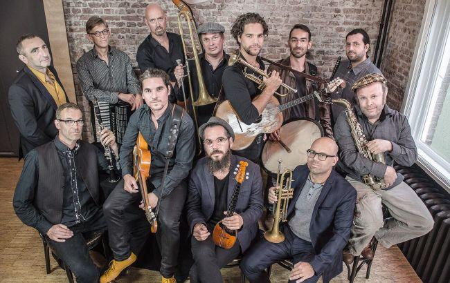 Amsterdam Klezmer Band i Söndörgő