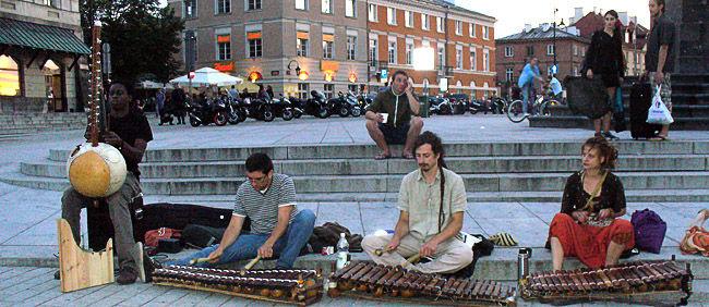 Muzyka na ulicach Warszawy