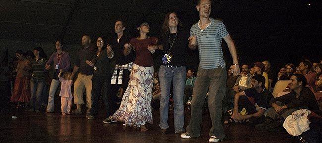Widownia tańczy