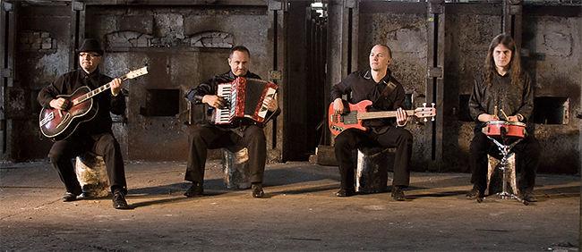 Adam, Jan, Erwin i Leon z zespołu Yejku